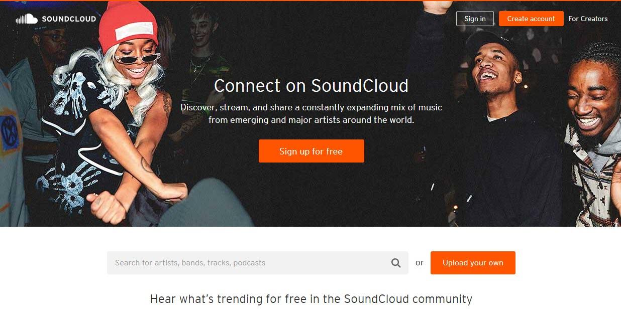 download free albums Soundcloud